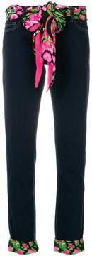 Class Roberto Cavalli roll-up jeans