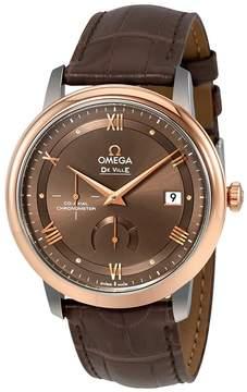Omega De Ville Automatic Chestnut Dial Men's Watch