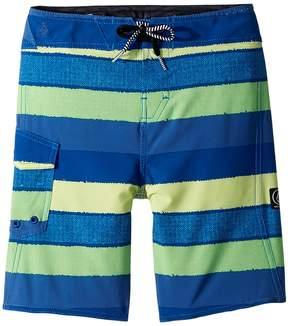 Volcom Magnetic Liney Mod Boardshorts Boy's Swimwear