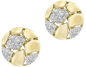 Bloomingdale's Diamond Stud Earrings in 14K Yellow Gold, .20 ct. t.w. - 100% Exclusive