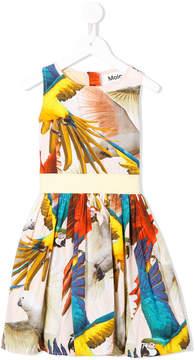 Molo parrot print dress