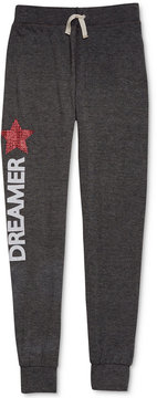 Jessica Simpson Paige Dreamer Graphic-Print Jogger Pants, Big Girls (7-16)