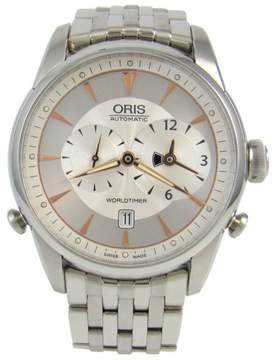 Oris World Timer 690-7581-4051MB Automatic Stainless Steel 42mm Mens Watch