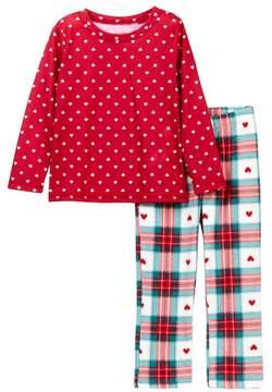 Joe Fresh Holiday Pajama Set (Toddler & Little Girls)
