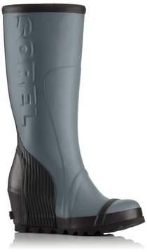 Sorel Womens Joan Rain Wedge Tall Felt Boot