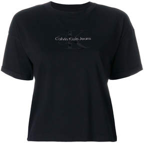CK Calvin Klein small logo T-shirt