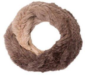 Yves Salomon Rabbit Fur Infinity Scarf