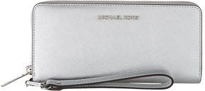 Michael Kors Jet Set Travel Wallet - SILVER - STYLE