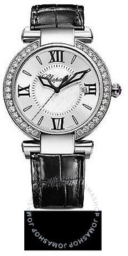 Chopard Imperiale Diamond Silver Dial Stainless Steel Ladies Watch