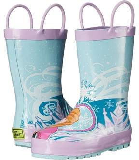Western Chief Frozen Elsa Anna Rain Boot Girls Shoes