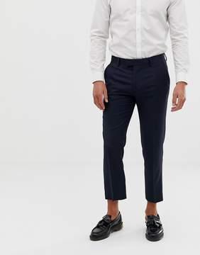 Farah Skinny Cropped Flannel Pants
