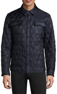 Rainforest Diamond Quilted Shirt Heated Jacket