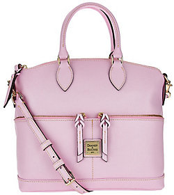 Dooney & Bourke As Is Saffiano Leather Pocket Satchel - ONE COLOR - STYLE