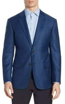 Armani Collezioni Houndstooth G Line Wool Sport Coat