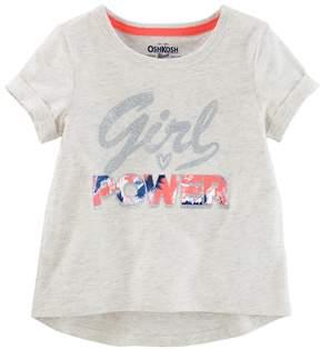 Osh Kosh Toddler Girl Girl Power Active Tee