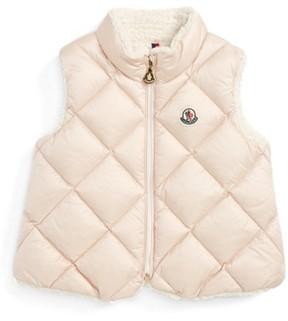 Moncler Toddler Girl's Ysaline Down & Fleece Lined Vest