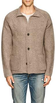 James Perse MEN'S WOOL-BLEND RELAXED CARDIGAN