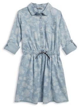 Calvin Klein Jeans Girl's Cotton Floral Dress