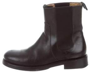 John Varvatos Leather Chelsea Boots