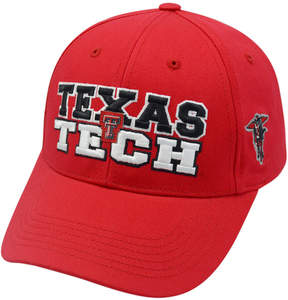 Top of the World Texas Tech Red Raiders Adjustable Cap
