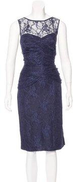 David Meister Lace Midi Dress