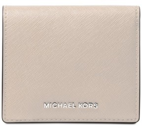 MICHAEL Michael Kors Jet Set Travel Carryall Card Case - CEMENT - STYLE