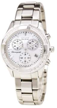 Citizen Women's FB1350-58A Eco-Drive Stainless Steel Watch, 40mm