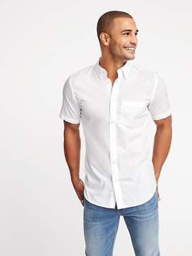 Old Navy Slim-Fit Clean-Slate Built-In Flex Classic Shirt for Men