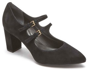Rockport Women's Violina Luxe Double Strap Mary Jane Pump