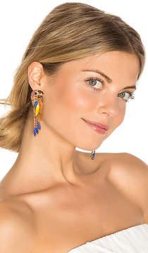 Elizabeth Cole Paulina Parrot Earring