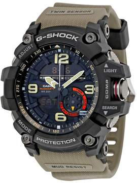 Casio G-Shock Black Dial Tan Resin Strap Men's Watch