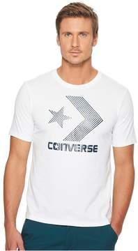Converse Line Fill Star Chevron Short Sleeve Tee Men's T Shirt