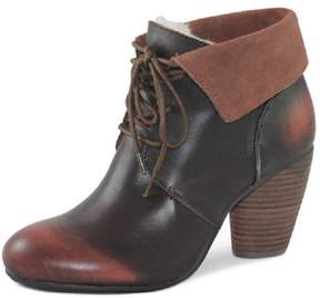 Emu Brown Ankle Bootie