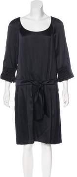 Christian Lacroix Silk Knee-Length Dress