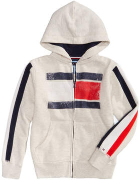 Tommy Hilfiger Graphic-Print Full-Zip Hoodie, Big Boys (8-20)