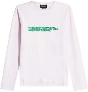 Calvin Klein Printed Cotton Top