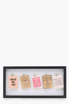 boohoo Large Interchangeable Photo Frame