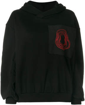 Damir Doma oversized hooded sweatshirt