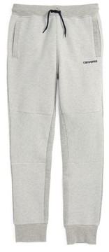 Converse Boy's Textured Slim Jogger Pants