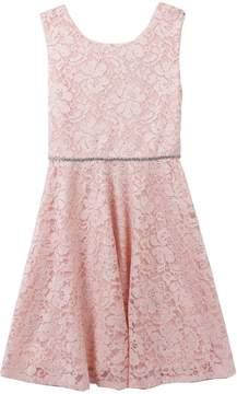 Speechless Girls 7-16 & Plus Glitter Lace Dress