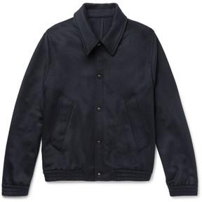 Ami Slim-Fit Wool-Blend Felted-Twill Jacket