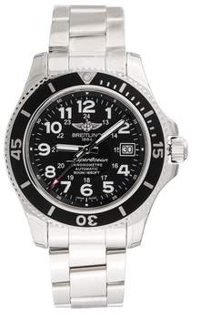 Breitling Superocean II A17365C9-BD67SS Automatic Black Dial Stainless Steel 42mm Men