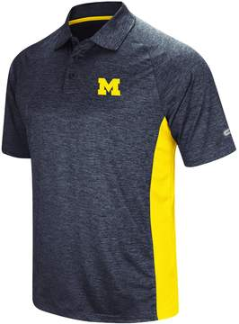 Colosseum Men's Michigan Wolverines Wedge Polo