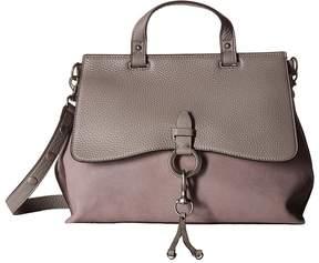 Rebecca Minkoff Keith Medium Satchel Handbags - BLACK - STYLE