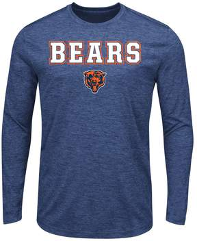 Majestic Big & Tall Chicago Bears Long-Sleeve Tee