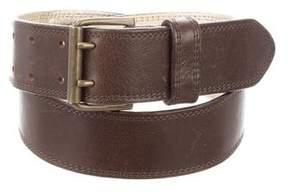 Dries Van Noten Leather Buckle Belt