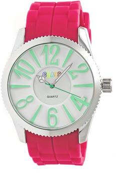 Crayo Magnificent Collection CRACR2907 Women's Watch with Silicone Strap