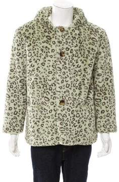 Gosha Rubchinskiy 2014 Hooded Animal Print Jacket