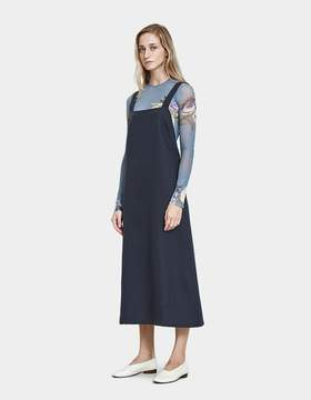 Base Range Duffy Overall Dress in Petrolium