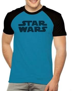 Star Wars Movies & TV Big Men's raglan poly tee with hd bristle print, 2xl